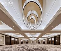 别墅客厅灯椭圆形水晶吸顶灯酒店大堂工程售楼部沙盘灯会所水晶灯